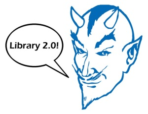 "Blue Devil ""Library 2.0"""